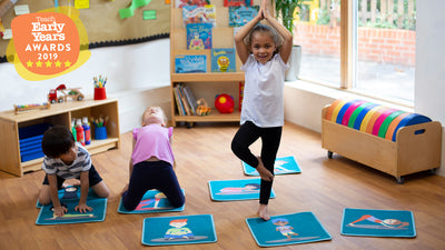 Yoga Mini Placement Tiles total of 32 with Free holdall
