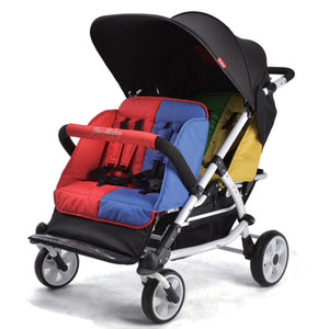 Familidoo 4 seater  Lightweight Duty Stroller with raincover