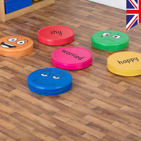 Emotions Floor Cushions Pack of 6