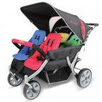 Familidoo 4 seater  Heavy Duty Stroller with Raincover