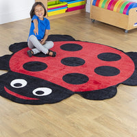 Back to Nature Giant Ladybird Shaped Indoor Carpet