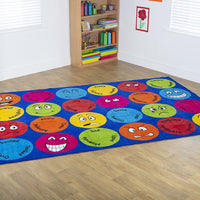 Emotions Rectangular Placement Carpet