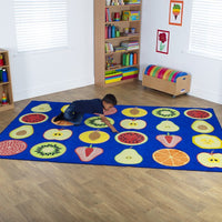 Fruit Rectangular Placement Carpet