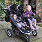 T3 JOGGER TRIPLE STROLLER with rain cover