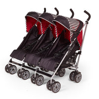 Triple Oxford Kids Kargo Stroller