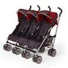 Triple Red Kids Kargo Stroller