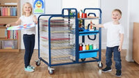 Tuf™ 3 in 1 Art Trolley