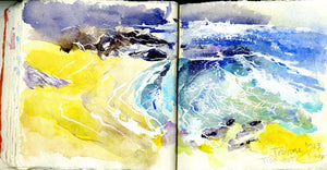 Cornish sketchbook tour No 2