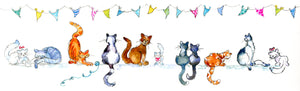 Top Cat Greeting Card