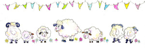 Sheep - Fluff Balls Greeting Card