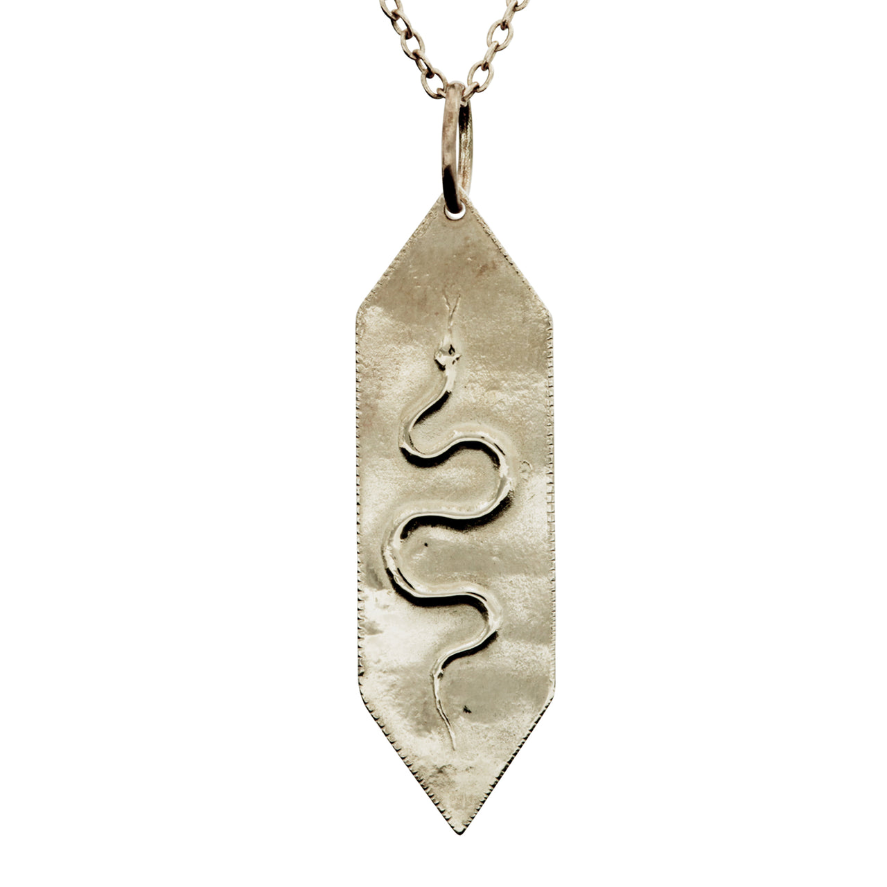 Golden Serpent Pendant