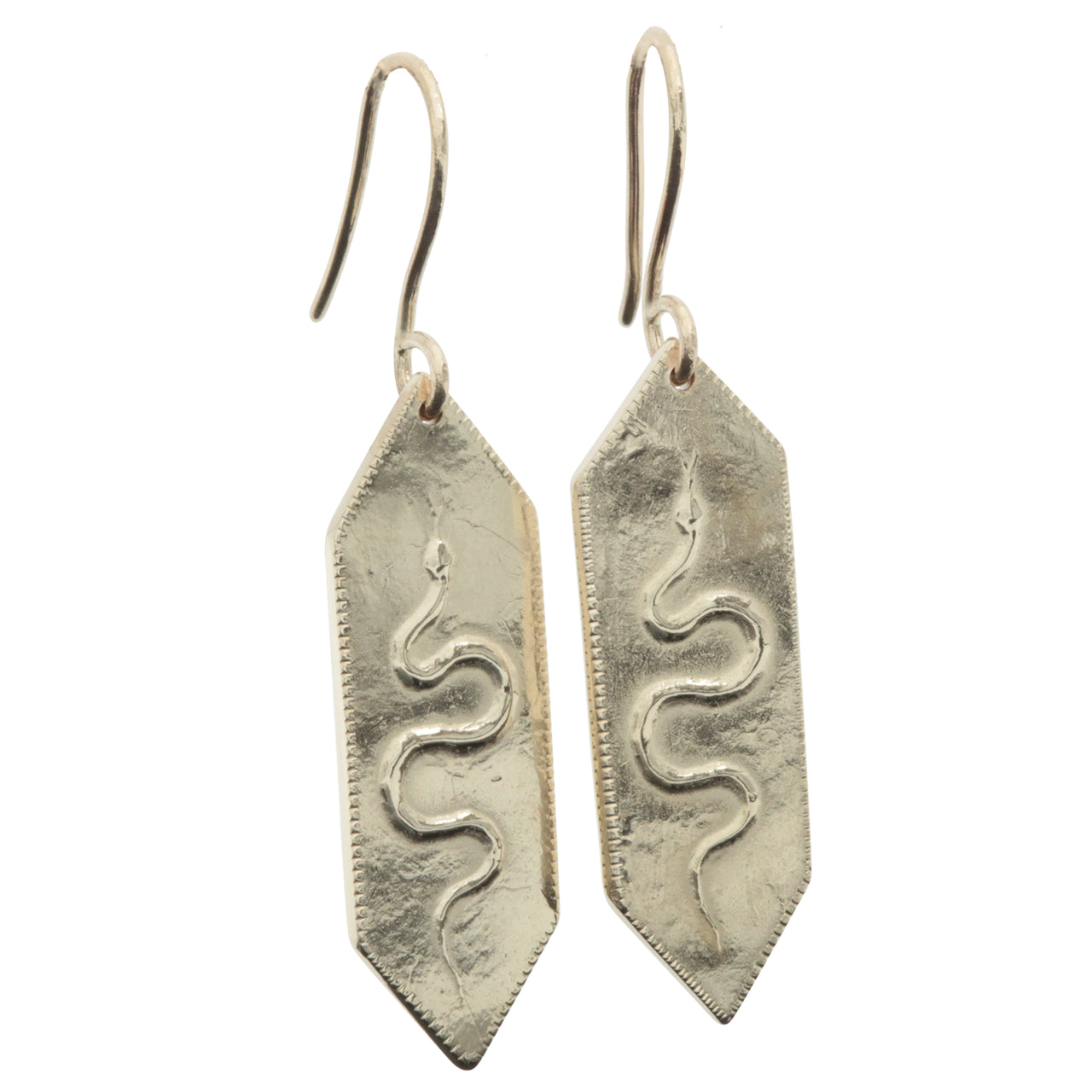 Ancient Honey - Golden Serpent Earrings