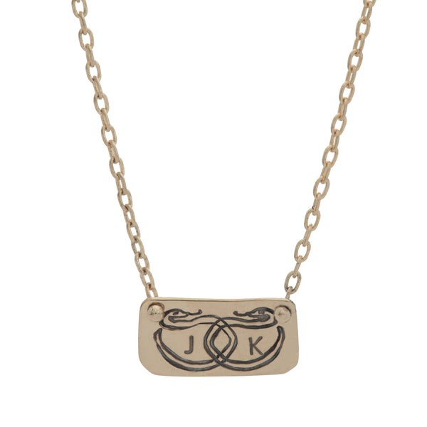 Sentimental Snake Necklace