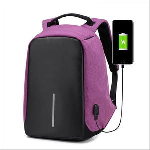 anti theft backpack bobby laptop amazon ebay cheap usb charger