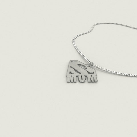 Image of Super Mom Pendant Necklace