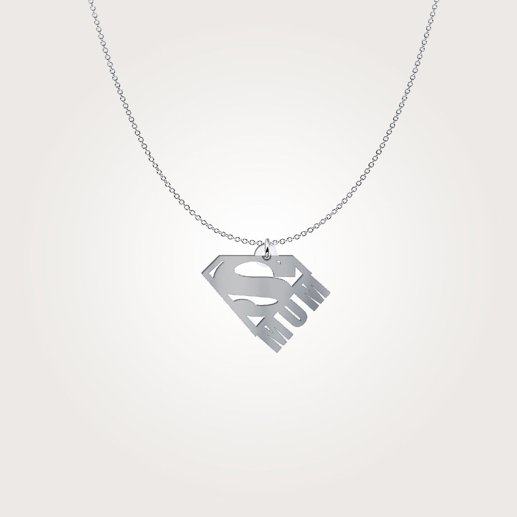 Super Mom Pendant Necklace