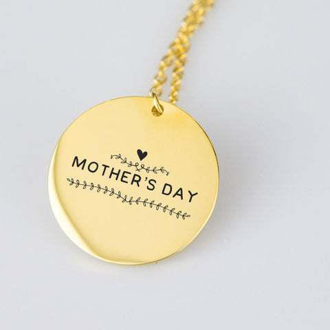 little Heart Mother's Day Pendant
