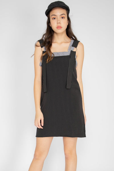 Gianna Pinstripe Dungaree