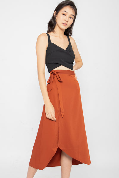 *Restocked* Dulce Side Slit Midi Skirt