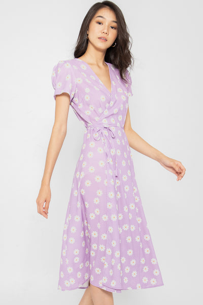 Giselle Floral Wrap Dress