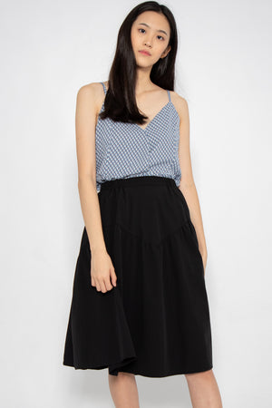 Emery Casual Midi Skirt - Three One Duo