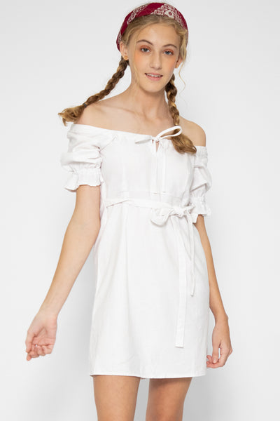 Zoelle Ruffle Sleeve Dress