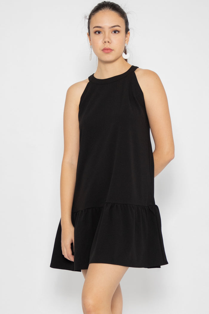 Willow Halter Neck Swing Dress - Three One Duo