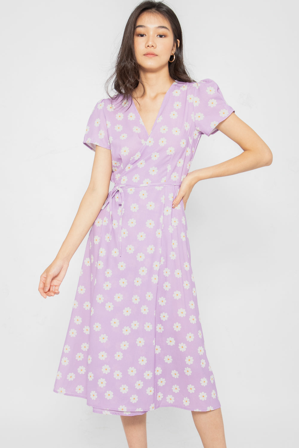 Giselle Floral Wrap Dress - Three One Duo