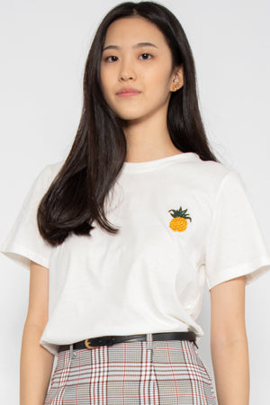 *Restocked* Cute Fruits Graphic Tee in Fineapple - Three One Duo
