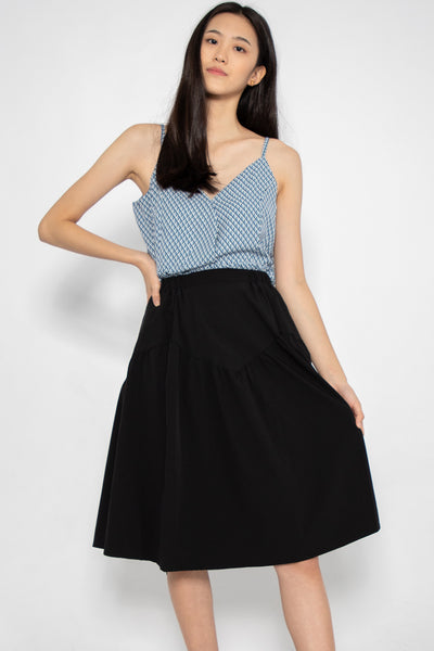 Emery Casual Midi Skirt