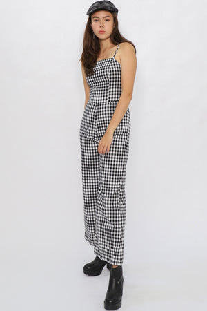 Finley Gingham Jumpsuit - Three One Duo