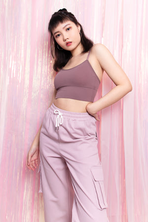 Joselyn Essential Bralette in Mauve