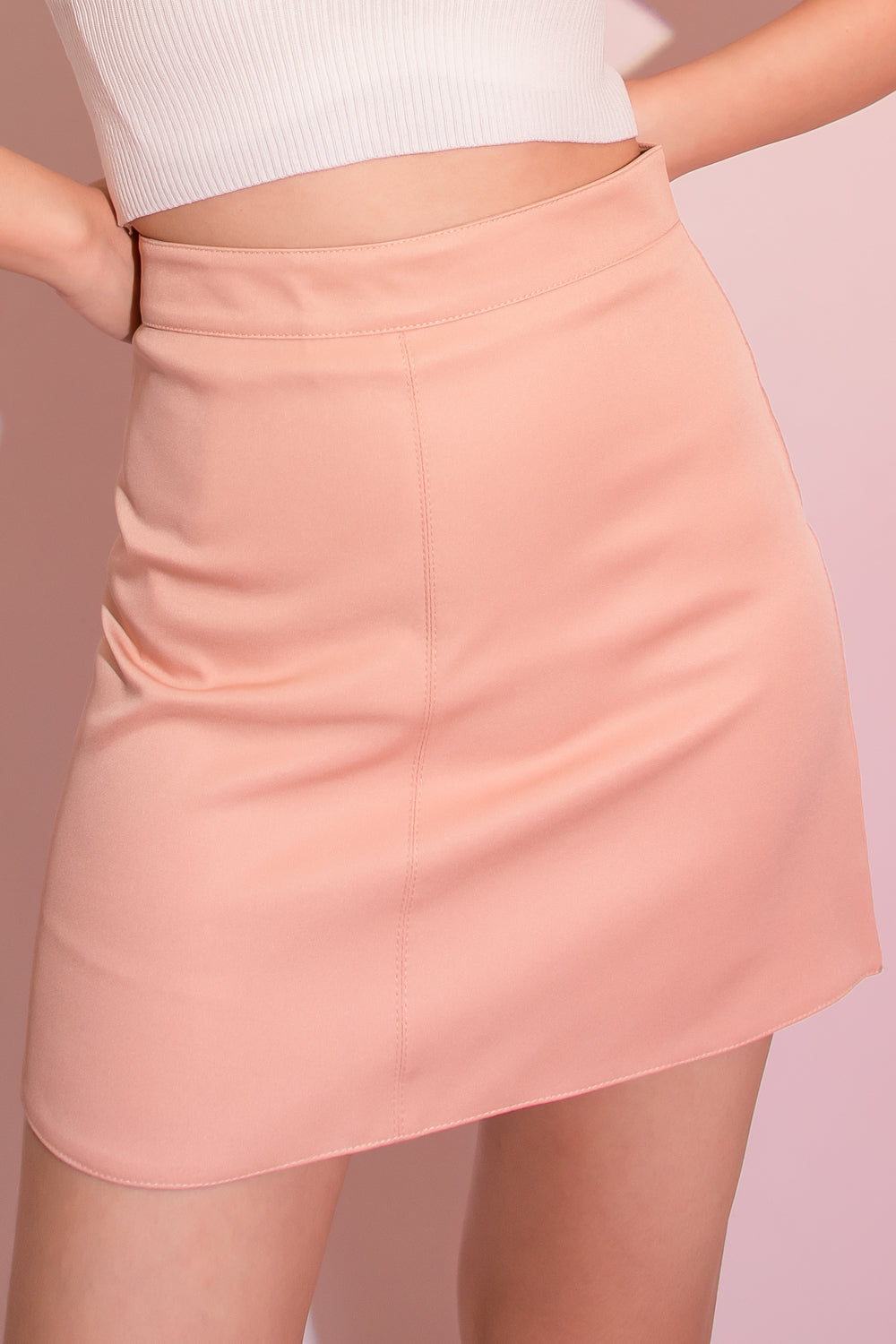 Shannon A-Line Skorts in Pink - Three One Duo