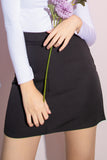 Shannon A-Line Skorts in Black - Three One Duo