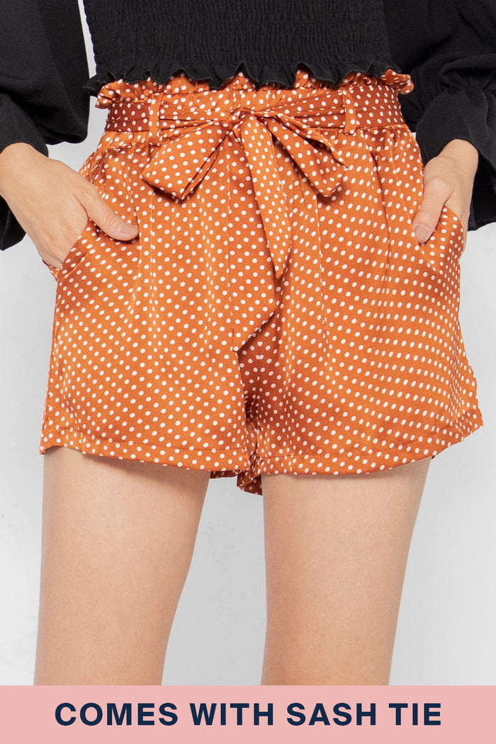 Erica Polka Dot Shorts - Three One Duo