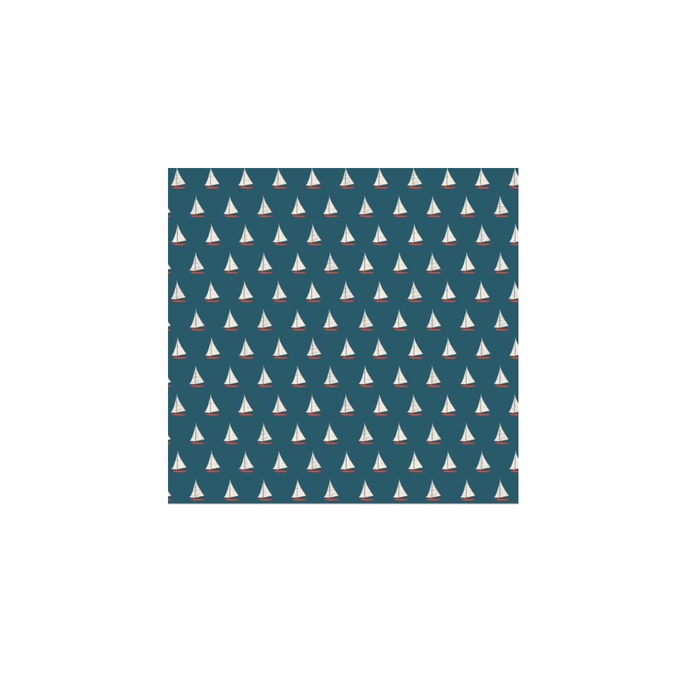 Nautical Themed Face Masks - Teal - Sailing Yachts Design Available Soon!!! PRE ORDER AVAILABLE