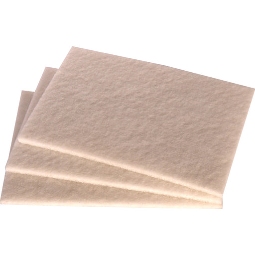 3M Scotch-Brite Type T Non-Abrasive Cleaning Pad - White
