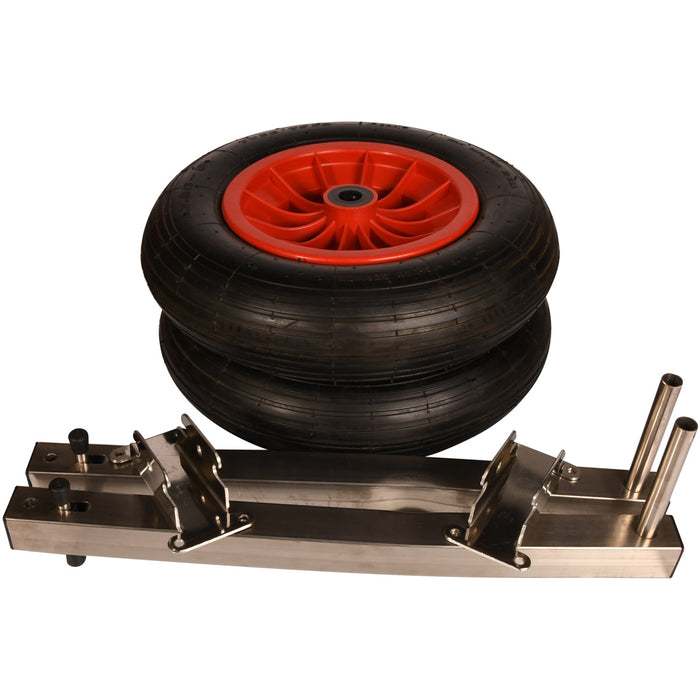Stainless Steel Up & Over Launching Wheels - 100 kg & 200 kg Capacity