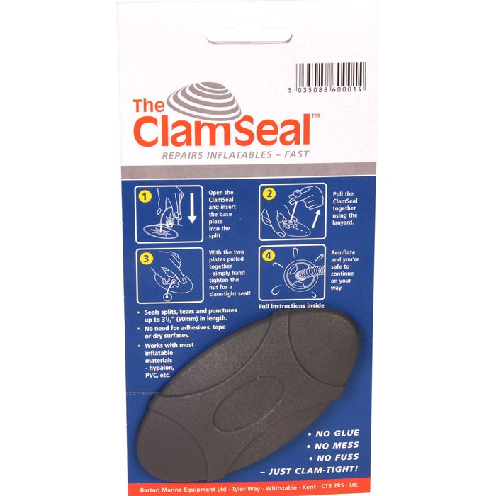 ClamSeal by Barton Marine For Emergency Repairs to Inflatable Boats and RIBs
