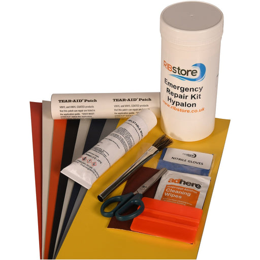 Emergency Inflatable Boat Repair Kit by RIBstore - Hypalon