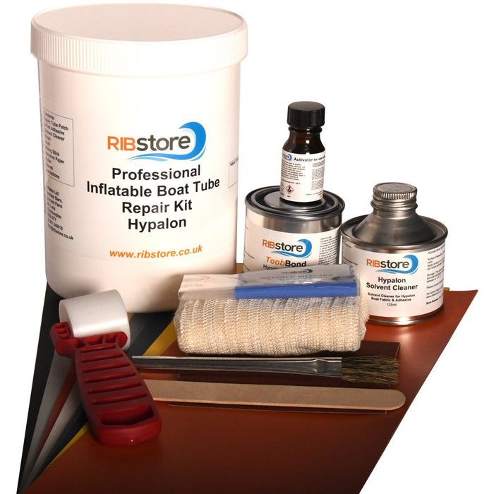 Professional RIB Inflatable Boat Repair Kit by RIBstore - Hypalon