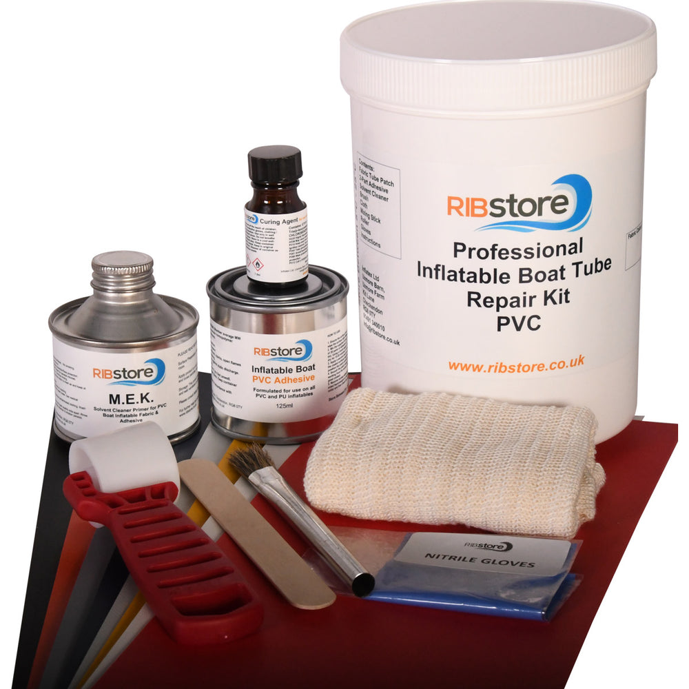 Professional RIB Inflatable Boat Repair Kit by RIBstore - PVC