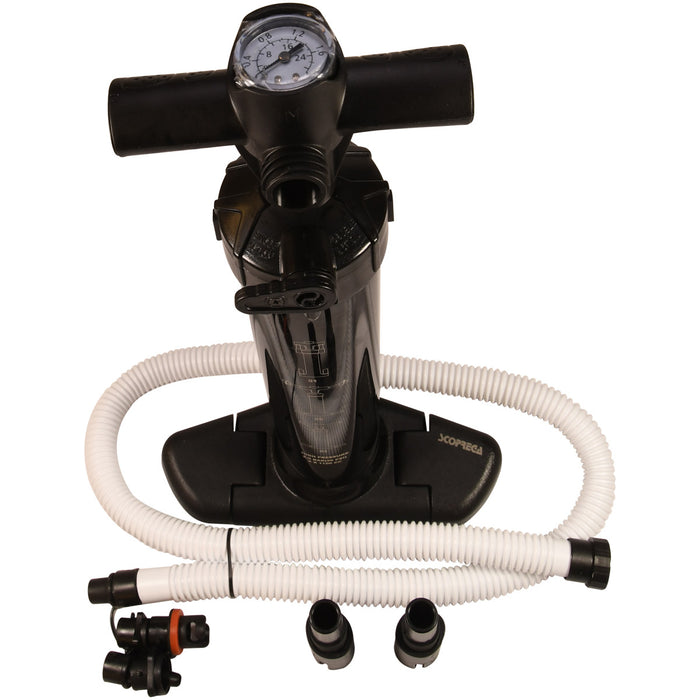 Scoprega Bravo GM 4XS Stirrup Style SUP Inflatable Dinghy Inflator Pump 29 psi