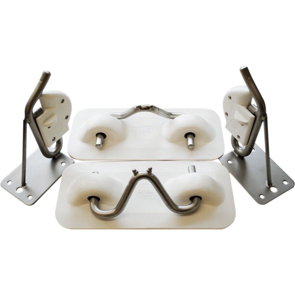 Easy-Lift PVC Snap Davit Transom Mount Kit