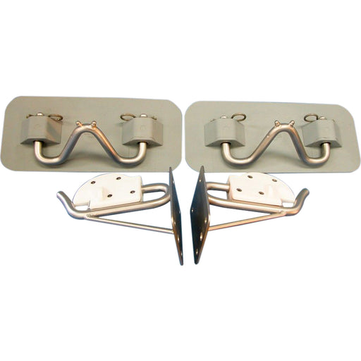 Easy-Lift Rubber Snap Davit Transom Mount Kit