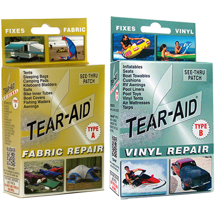 Tear-Aid Emergency RIB Inflatable Boat Repair Tape for Hypalon and PVC