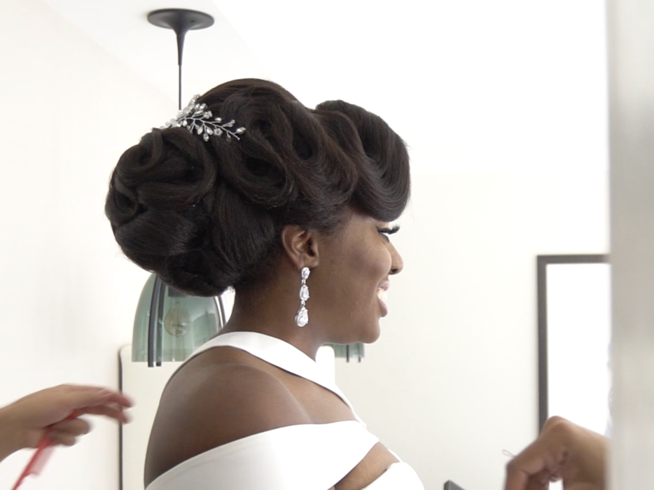 Bridal Ready 7 Natural Hairstyles For Your Wedding Day Hotooore