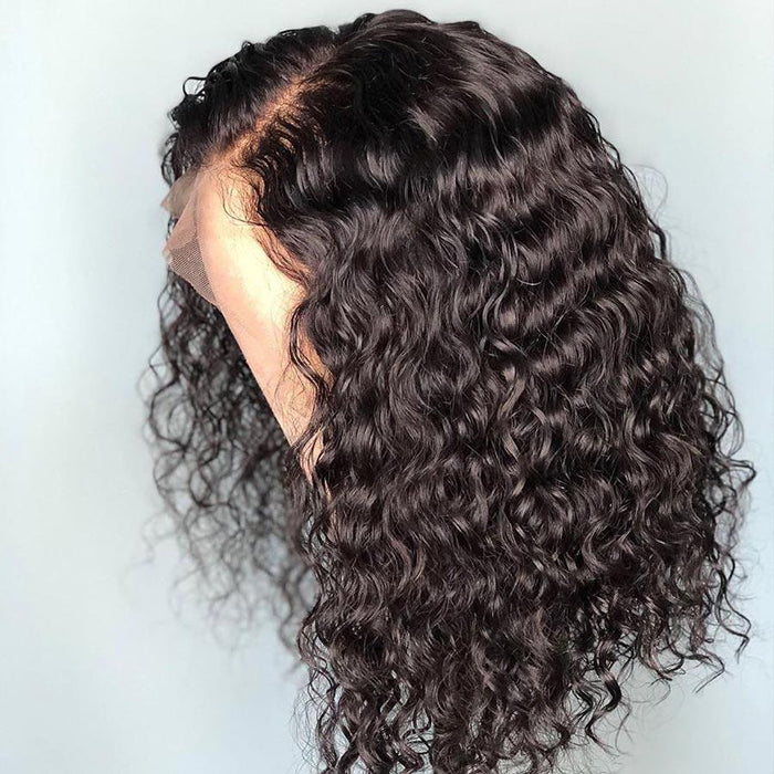 Brazilian Bob Water Curly Wigs