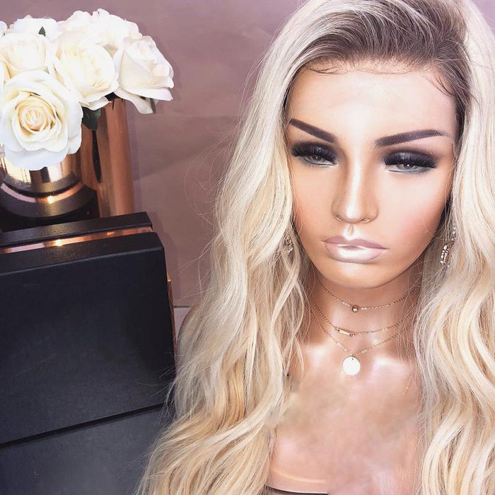 GOLDEN LACE WIG NATURAL HAIR 50% OFF TODAY !!