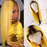 Elegants Colored Yellow Human Hair Wigs With Preplucked Baby Hair 130% 150% 180% density Ombre Blonde Lace Front Wig Brazilian Remy Hair